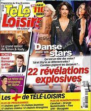 "TELE LOISIRS N°1442 19 OCTOBRE 2013  ""DANSE AVEC LES STARS""/ LAURENCE FERRARI"