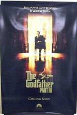 1-Sheet Poster 1990 THE GODFATHER III Al Pacino ADVANCE