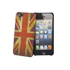 Retro Vintage Union Jack Flag Print Back Case Hard Cover for Apple iPhone 5 5G