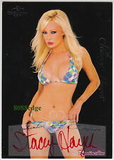2005 BENCHWARMER SIGNATURE AUTO #64: STACEY HAYES -RED AUTOGRAPH SPIKE TV/COMEDY