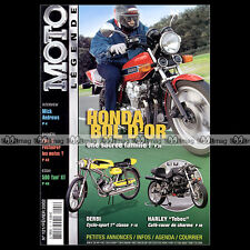 MOTO LEGENDE N°121-b HONDA CB 900 BOL D'OR YAMAHA XT 500 RATIER DERBI GRAN SPORT