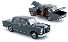 NOREV MERCEDES BENZ 200 Authentic Mercedes Grey Color 1:18**Back in Stock**