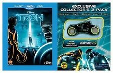 Disney Tron: Legacy (Blu-ray/DVD, 2011, 2-Disc Set) New/Sealed with Tron Cycle