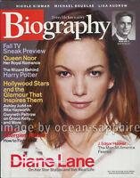 DIANE LANE J Edgar Hoover JK ROWLING Queen Noor NICOLE KIDMAN 2003 Biography
