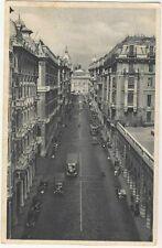 100 GENOVA - Via XX Settembre - Viaggiata 1946