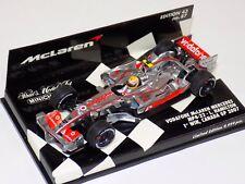 1/43 Minichamps F1 McLaren Mercedes 2007 Vodafone MP 4-22 Hamilton Canada GP