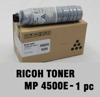 Ricoh GENUINE BLACK Toner Cartridge MP 4500E 4500S C4500E C3500 23k ORIGINAL