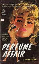 Vintage Lesbian Sleaze PB Paperback - Perfume Affair - GGA Maguire Chariot 1963