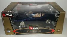 1:18 Scale Burago 1998 Maserati 3200 GT - Dark Blue