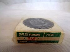 NEW LOVE JOY S-FLEX COUPLING/FLANGE 4J X 3/4