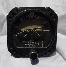 Helicopter & Fixed Wing Pilot's Attitude Horizon Indicator Gauge Instrument