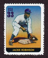 UNITED STATES, SCOTT # 3408-A, SINGLE STAMP OF JACKIE ROBINSON, BASEBALL LEGEND