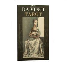 Leonardo Da Vinci Tarot 78 Cards Deck with Multilingual Instructions