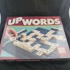 (Minor wear) UPWORDS THE 3-D WORD GAME BY MILTON BRADLEY- 100% Sealed New 1997