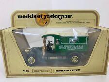 1978 Matchbox Models of Yesteryear Perrier Water 1910 Renault Truck Type AG NIB