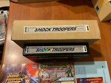 Neo Geo Mvs Full kit Shock Troopers Matching serial EXC condition