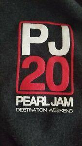 Pearl Jam PJ20 HOODIE ALPINE VALLEY size XXL MINT CONDITION