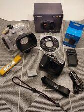 Canon PowerShot G1 X 14.3MP Digital Camera w/ Canon WP-DC44 Underwater Housing