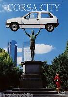 4174OPE Opel Corsa City Prospekt 1988 9/88 deutsche Ausgabe brochure prospectus