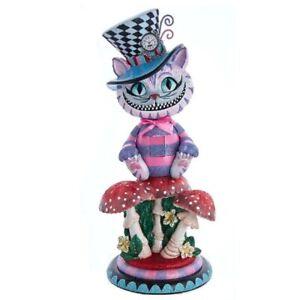 Hollywood Cheshire Cat Alice in Wonderland Christmas Nutcracker HA0573 15 Inch