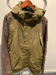 Oakley Mens Ski/Snow Shell Jacket, Large, Olive, Waterproof