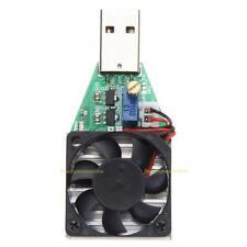 #QZO 15W 3.7-13V resistencia de carga electrónica industrial la mina de descarga de batería USB