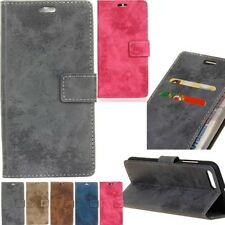 Retro Wallet Card Leather Flip Case Cover Stand For Moto Xiaomi Sony Nokia Lenov