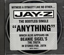 Jay-Z, Anything; 1 track PR-CD Single