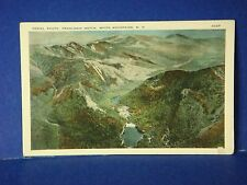 Aerial Photo Franconia Notch White Mountains NH Vintage Color Postcard PC8