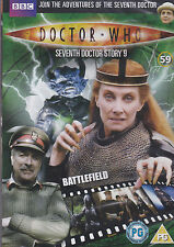 BATTLEFIELD Doctor Who BBC files 59 likeNewCond. can post 7 dr who DVD for £3.50