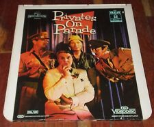 PRIVATES ON PARADE * CED Videodisc * PAL UK * John Cleese * Denis Quilley *
