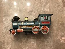 Western Locomotive Special Tin Train Trade Mark Modern Toys Japan Battery Engine