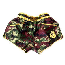 Kick Boxing Muay Thai Shorts Camouflage Women Girls Lady Mma Pants Wear Sport