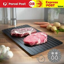 Fast Defrosting Tray Thawing Frozen Metal Plate Magic Safe Meat for Home Kitchen