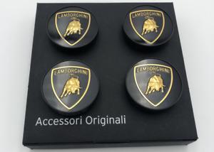 BEST 4 PCS Lamborghini GALLARDO MURCIELAGO HERCULES Wheel Center Caps 0R1400107