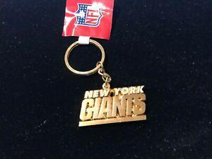 New York Giants Metal Key Chain / Key Ring - NEW - Logo - NFL Licensed