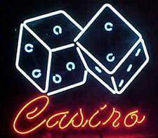"New Casino Poker Beer Man Cave Neon Light Sign 17""x14"""