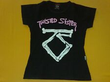 Rare Girlie T-shirt:TWISTED SISTER-WE'RE NOT GONNA TAKE IT Nacho Pop(no lp,cd)
