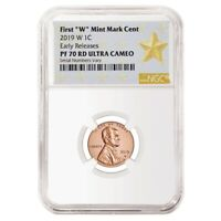 2019 W Proof Lincoln Penny Cent Comm. NGC PF 70 ER (Star Label)