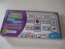 Lakeshore Short vowels Phonics Magnets Learning To Read Toy