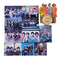 Lot of 11 1990's Vintage Beatles Magnets