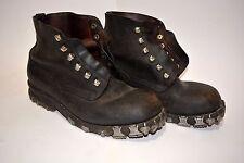 WW2 Vintage German Army Mountain Troops Gebirgsjäger Boots with Metal Hobnails