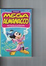 1990 01 - MEGA ALMANACCO WALT DISNEY - 01 1990 - N.397