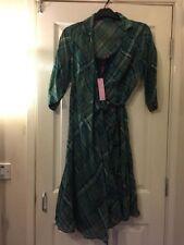 Monsoon Cotton Striped Regular Size Dresses for Women