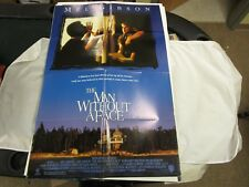 VTG One Sheet Movie Poster The Man Without A Face 1993 Mel Gibson