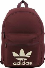 ADIDAS TRIKOT BACKPACK Mystery Brown-White tricot trefoil logo daypack college