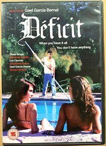 Deficit DVD 2007 Spanish Drama Film Movie with Gael Garcia Bernal