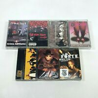 Lot of 7 Cassette Tapes 90s Rap Hip Hop Major Figgas CCA Mase John Forte *SEALED