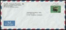 17452 - CHINA TAIWAN 1974 COLO ON COVER TAINAN TO DARMSTADT GERMANY