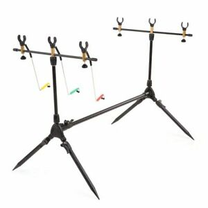 Fishing Rod Adjustable Retractable Carp Pod Stand Holder Stand Tackle Accessory